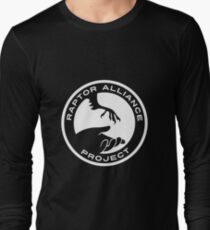 Raptor Alliance Project: White Long Sleeve T-Shirt