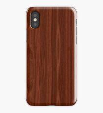 Dark Wood Grain iPhone Case/Skin