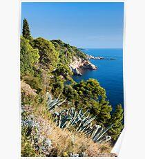 Adriatic Sea Coastline Poster