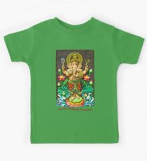 Ganesh Blessing Thailand Kids Tee