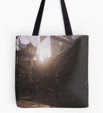 Sun and the city  Tote Bag