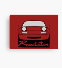 Eunos Roadster Front Canvas Print
