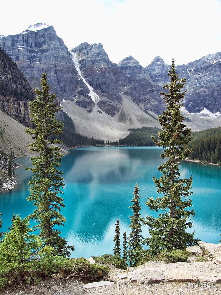 Moraine Lake by Lynn Bolt
