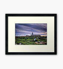 Ta Jordan lighthouse Framed Print