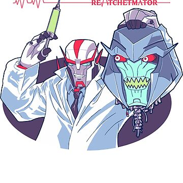 Transformers Prime Reanimator mashup ReAtchetmator by mysticfetus