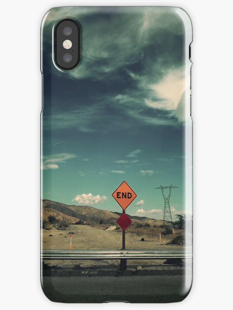 It's the End of the World as We Know It iPhone Case by Laurie Search