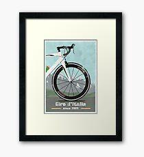 GIRO D'ITALIA BIKE Framed Print