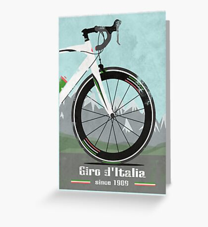 GIRO D'ITALIA BIKE Greeting Card