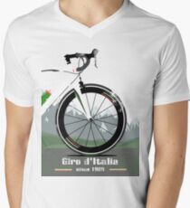GIRO D'ITALIA BIKE Men's V-Neck T-Shirt