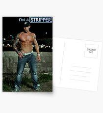 I'm a Stripper - Jeremy Postkarten