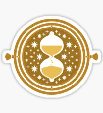 Time Turner Flat Art Sticker