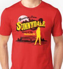 Camiseta ajustada Saludos desde Sunnydale