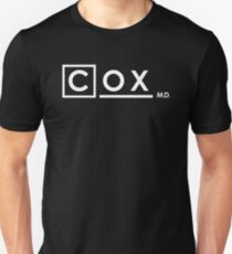 Dr Perry Cox x House M.D. (Scrubs) T-Shirt