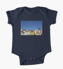 Colourful buildings One Piece - Short Sleeve
