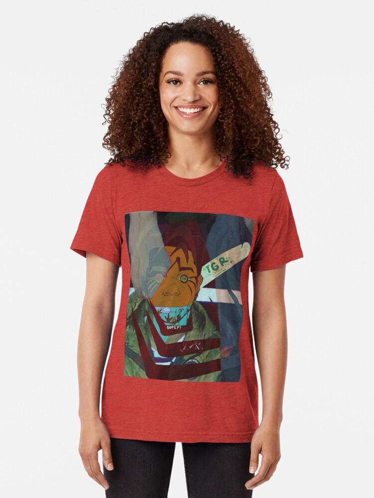Alternate view of Safari Tri-blend T-Shirt