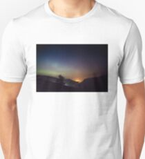 Aurora over Glengesh, Donegal T-Shirt