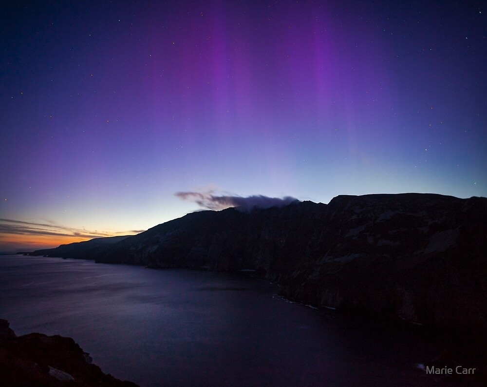 The Northern Lights in June by Marie Carr