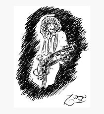 sir Jimmy Page Photographic Print