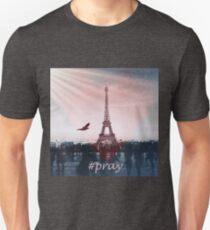 Pray for Paris Artwork T-Shirt