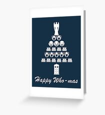 Happy Who-mas Greeting Card