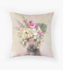 Flower Power, Kahula Throw Pillow
