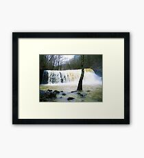 Mists Of Brushcreek Framed Print