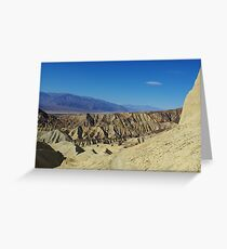 Hiking trail, Death Valley Greeting Card