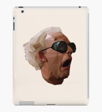 Doc Brown - Back to the Future | Christopher Lloyd Low Poly iPad Case/Skin