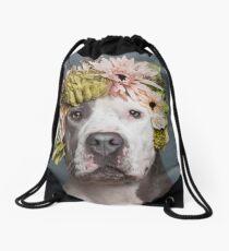 Flower Power, Pickles Drawstring Bag