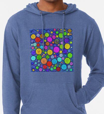 #DeepDream Color Circles Visual Areas 5x5K v1448629304 Lightweight Hoodie