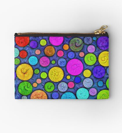 #DeepDream Color Circles Visual Areas 5x5K v1448629304 Zipper Pouch