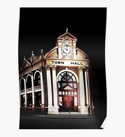 York Town Hall - Western Australia  Poster