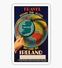 Vintage poster - Ireland Sticker