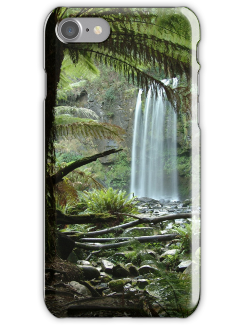 Hopetoun Falls, Otway Ranges by Joe Mortelliti