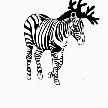 Happy Zebra Christmas von miiaa