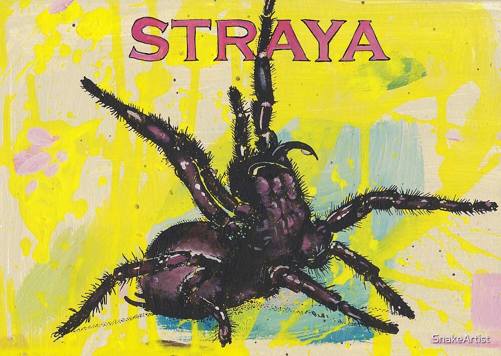 Straya by SnakeArtist