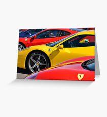 Ferrari ... Greeting Card