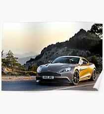 The new Aston Martin Vanquish ... Poster