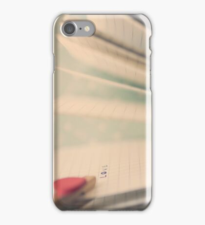 p.s  i love you iPhone Case/Skin