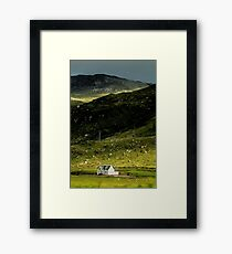 Valley House Framed Print