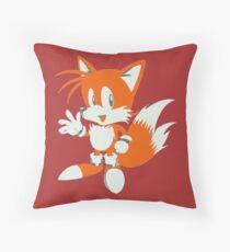 Minimalist Tails 3 Throw Pillow