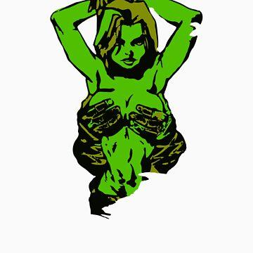 She Hulk - Vienna Graffiti by edskimo8