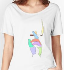 Cigarette Daydreams - In Color Women's Relaxed Fit T-Shirt