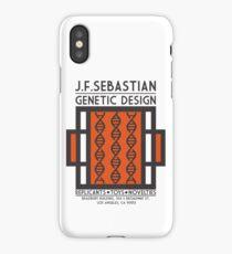 JF SEBASTIAN GENETIC DESIGN - Blade Runner iPhone Case