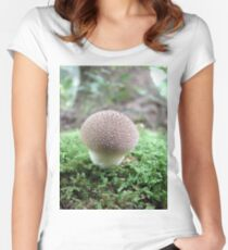Witch's Cupcake Shroom Women's Fitted Scoop T-Shirt