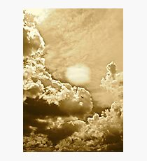 CLOUDED EGRET Photographic Print