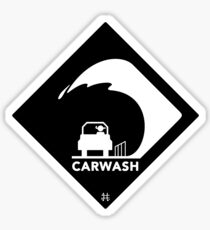 Carwash Sticker