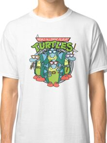 Highly Allergic Fliburt Turtles Funny T-shirt