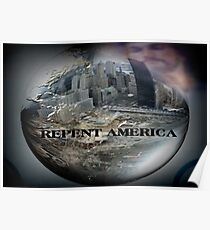 REPENT AMERICA Poster