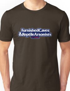 Furnished Caves & Reptile Arsonists T-Shirt